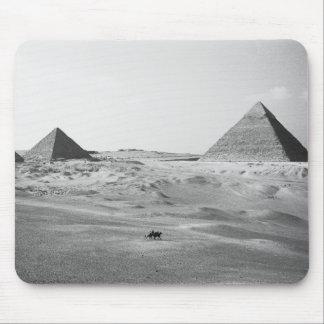 Cairo Egypt, Giza Pyramids Mousepads