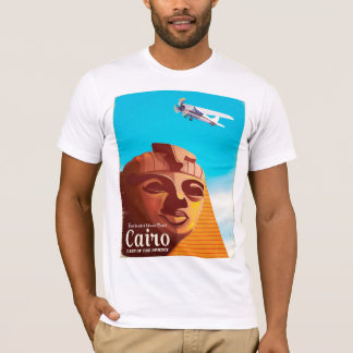 Cairo Egypt Vintage style travel poster T-Shirt