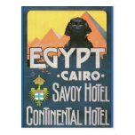 Cairo Egypt - Vintage travel poster art Post Card