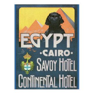 Cairo Egypt - Vintage travel poster art Postcard