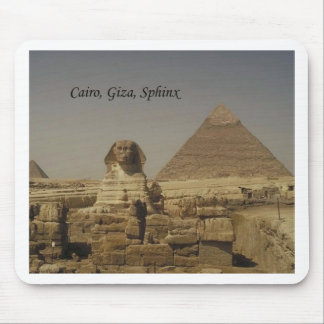 Cairo, Giza, The Sphinx (St.K.) Mouse Pad