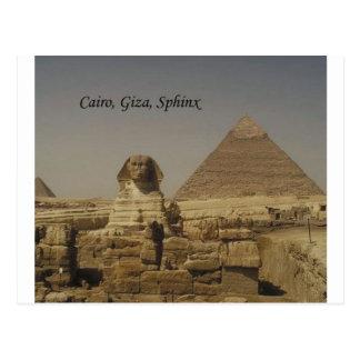Cairo, Giza, The Sphinx (St.K.) Postcard