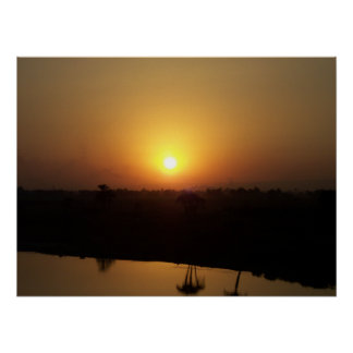 Cairo Sunset Poster