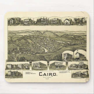 Cairo, West Virginia (1899) Mouse Pad