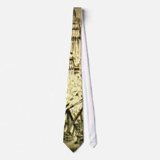 Caissons on Vesey Street 1924 2 Tie