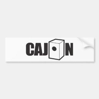 Cajon Bumper Sticker