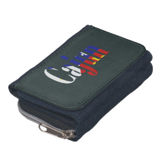Cajun Acadian Flag Louisiana Wallet