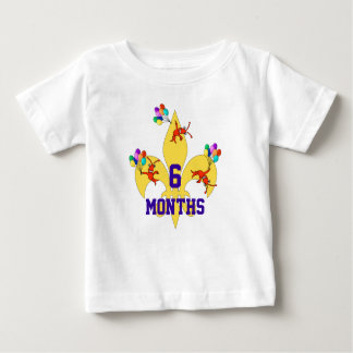 Cajun Baby Birthday Milestone Shirt