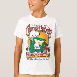 Cajun Crocs Ceole Cuisine T-Shirt