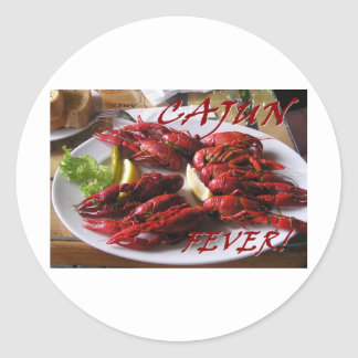Cajun Fever! Classic Round Sticker