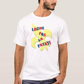 """Cajun """"Lache pas la patate"""" T-Shirt"""