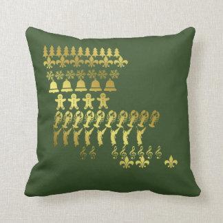 Cajun Louisiana Custom Christmas Pillow