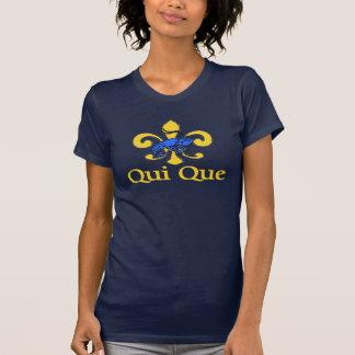 Cajun Qui Que, Blue Tiles Crawfish T-Shirt