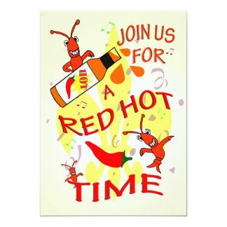 Cajun Themed  Party Invitation