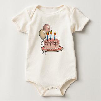 Cake-011 Peach & Apricot Baby Bodysuit