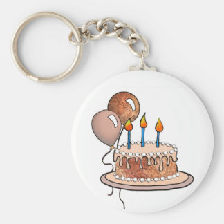Cake-015 Apricot and Peach Keychains