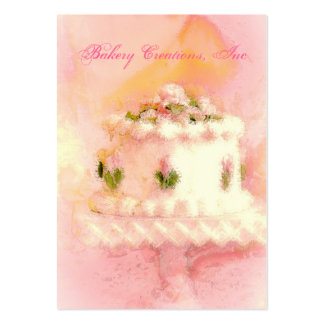 Cake Art I Pack Of Chubby Business Cards