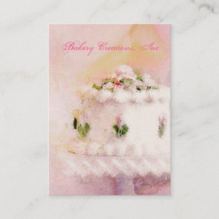 Cake art business cards business card printing zazzle cake art v business card reheart Choice Image