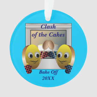 Cake Baking Contest Ornament