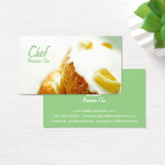 Cake Chef Business Cards