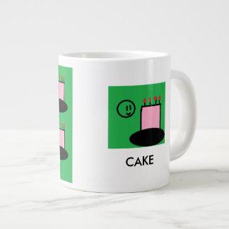 Cake Cup Jumbo Mug