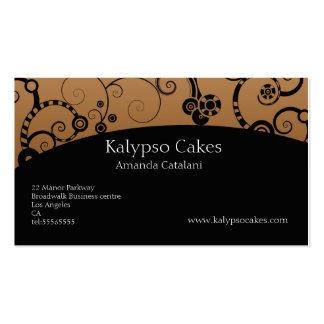 Cake Decorator business card