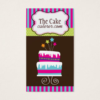 Cake Designer Business Cards