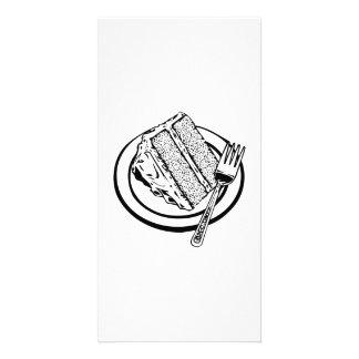 Cake Dessert Photo Greeting Card