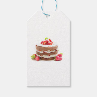 cake gift tags