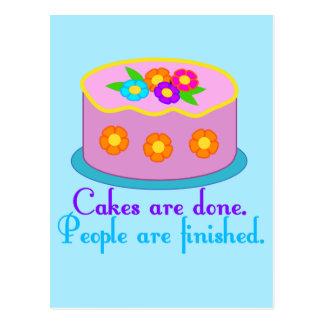 Cake Grammar Postcard