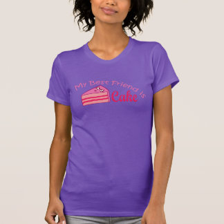 Cake is your best friend tshirt