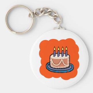 Cake Key Chain