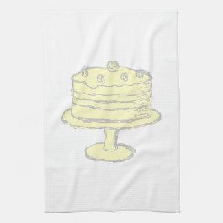 Cake. Kitchen Towels