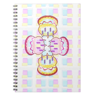 CAKE MANIA :  KIDS would like PLAY with CAKES Note Book