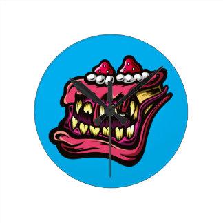 Cake Monster Wallclock