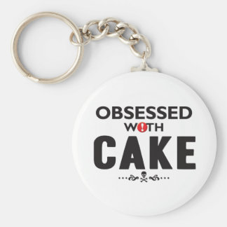 Cake Obsessed Key Chain