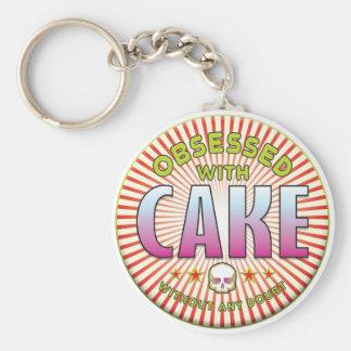 Cake Obsessed R Keychain