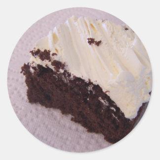 cake on paper towel sticker