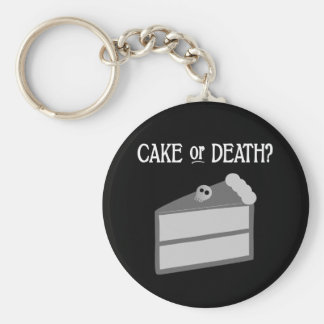 Cake or Death? Keychains