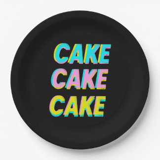 Cake Paper Plate