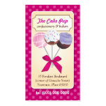Cake Pop Dots Business Card