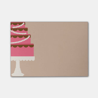 Cake Post-it® Notes