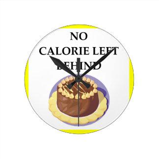 cake round clock
