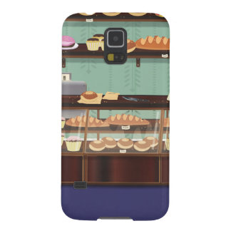 Cake Shop Counter Cases For Galaxy S5