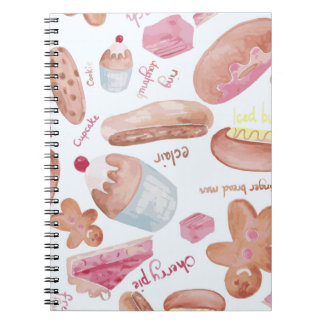 Cake shop notebooks