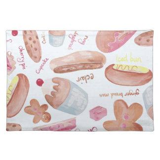 Cake shop placemat