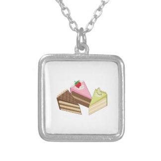 Cake Slices Custom Necklace