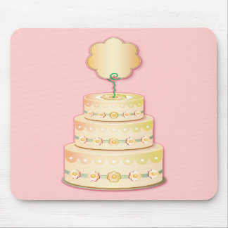 Cake template mouse pad