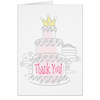 Cake Thank You Card