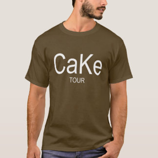 Cake Tour Funny Food Lovers T-shirt